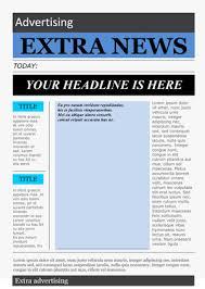 newspaper article template madinbelgrade