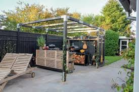 outdoor küche outdoorküchen kochen im freien mein schöner garten