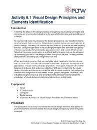 design applying the elements 6 1 a visualprincipleselementsid shape color