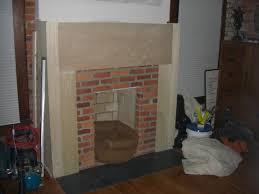 german village fireplace renovation