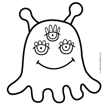 alien coloring pages for kids printable free coloring pages