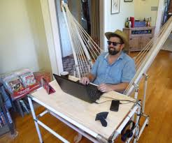 the hammock desk 5 steps with pictures