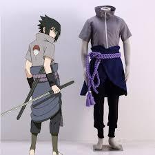 Halloween Ninja Costumes Anime Naruto Fourth Shinobi War Uchiha Sasuke Cosplay