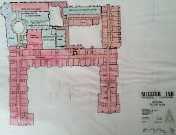 Floor Plans With Secret Passages Floor Plans Of The Mission Inn And Catacombs Inside The Inland