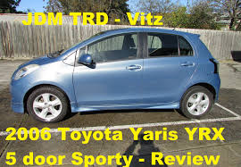 toyota yaris sr review 2006 toyota yaris yrx 5 door sports review vitz mods