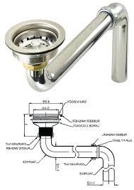 Kitchen Sink Parts Sink Drain Parts Kitchen Sink P Trap Replace Kitchen Sink Bathroom