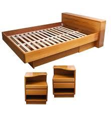 Teak Bedroom Furniture by Danish Teak Bedroom Set Ebth