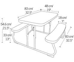 lifetime childrens folding table 80156 lifetime children s picnic table pink folding table picnic