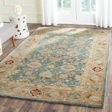 Safavieh Rugs Overstock by Safavieh Antiquity Teal Blue Taupe 6 Ft X 9 Ft Area Rug At849b 6