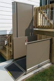 standard porch lifts u0026 vertical platform lifts