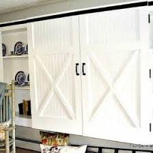 barn door for kitchen cabinets easy diy barn door tutorial from fourgenerationsoneroof