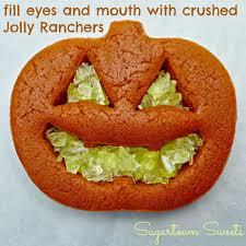 sugartown sweets jack o u0027 lantern cookies