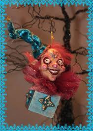 clown ornament by labyrinthcreations on deviantart