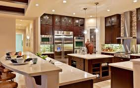 toll brothers model home interior design with nice kitchen island
