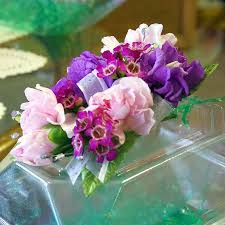 purple corsage purple pink carnation stock corsage in platte city mo platte