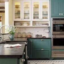 modern kitchen cabinet wooden access door storage ideas grey tile