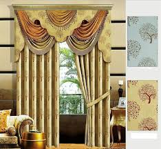Ready Made Draperies Aliexpress Com Buy Luxury Valance For Window Curtains Treatment