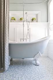 clawfoot tubs in bathroom traditional with home theater paint