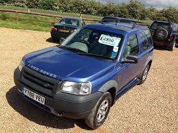 land rover freelander 2002 second hand land rover freelander 2 0 td4 s hardback 3dr full