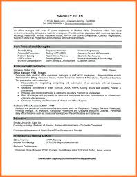 Administrative Resume Template Sample Of Office Manager Resume General Manager Resume Sample