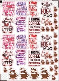 coffee planner stickers printable free printable coffee themed planner stickers for erin condren life