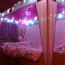 Best Bedroom Decoration Trends With Fairy Light Images On - Pink fairy lights for bedroom