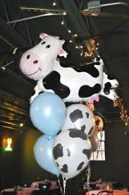 cow print balloons party til the cows come home pink peppermint the