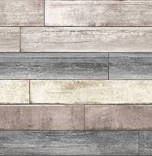 reclaimed wood nuwallpaper nu1690 reclaimed wood plank peel stick