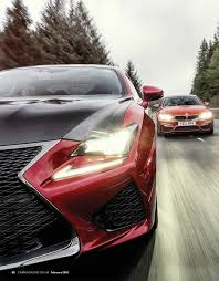 lexus ls vs bmw car magazine comparison lexus rc f vs bmw m4 vs ford mustang
