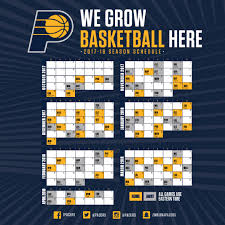 indiana pacers schedule