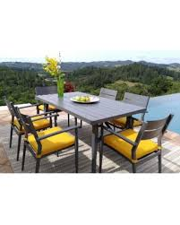Find The Best Deals On Corvus Parma Piece Patio Dining Set With - Yellow patio furniture