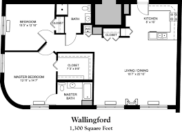 1300 sq ft house plans floor for square foot home with loft 2681