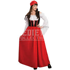 Maid Halloween Costumes Womens Tavern Maid Costume Rc 56266 Medieval Collectibles