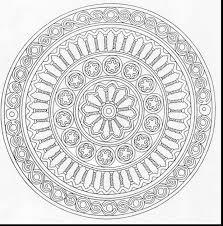 incredible printable mandala coloring pages free mandala
