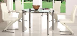 dining table glass extending dining table and chairs second hand
