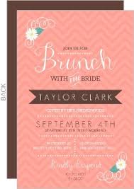 bridal brunch invitation bridal shower invitations beautiful custom wedding stationery