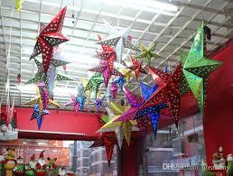 2015 new 60cm christmas star decorations xmas creative cute