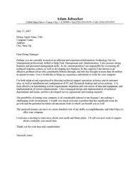 good example of a resume cover letter letter samples pinterest