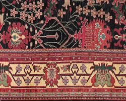 Black Gold Rug Rugsville Arts U0026 Craft Black Gold Wool Rug 10816 Rugsville Co Uk