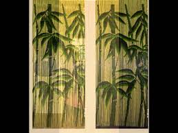 Jml Door Curtain by Bamboo Curtain Door Youtube