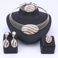 vintage wedding jewelry necklace images Dubai wedding bridal jewelry sets rhinestone dubai crystal jewelry jpg