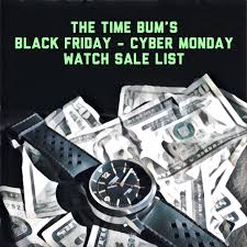 black friday watch deals 2017 the time bum