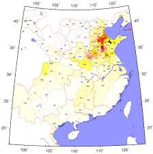 Forum Map Amazing Han Dynasty Population Map U2013 The History Of China
