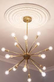 Vintage Sputnik Light Fixture Sputnik Light Fixture House Beautiful