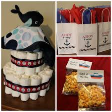 Nautical Baby Shower Decorations Books And Cooks