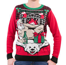 women u0027s santa u0027one night only u0027 light up ugly christmas sweater