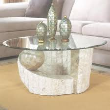 river stone coffee table river stone coffee table fresh articles with hudson round coffee