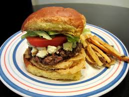 red robin bleu ribbon burger love to be in the kitchen