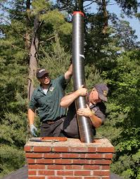 Fireplace Pipe For Wood Burn by Flue Liners Chimney Liner Options Stainless Steel Chimney Liners