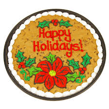 holiday floral cookie cake cookies by design win the ultimate